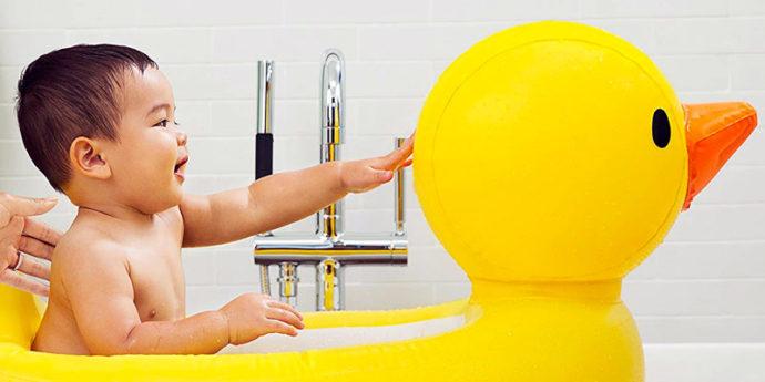Baignoire gonflable bébé - Les meilleurs modèles