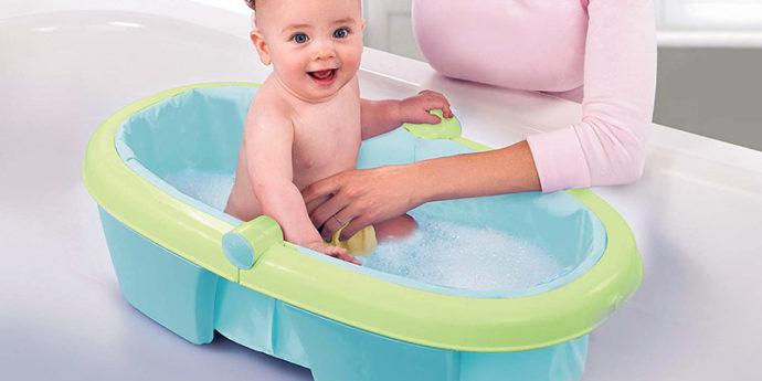 Baignoire pliable pour bébé - Les meilleurs modèles et nos conseils