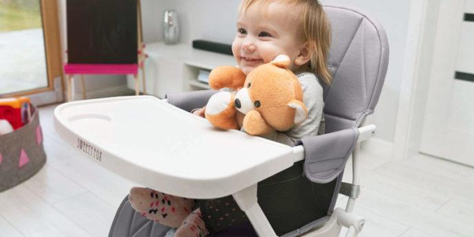 Chaise haute bébé - Comparatif des meilleurs modèles