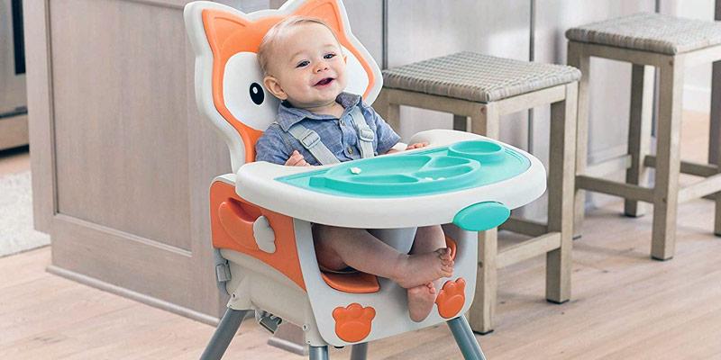 Chaise haute design pour bébé