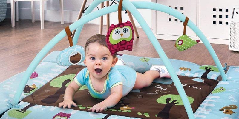 Comment choisir un tapis d'éveil pour son bébé ?