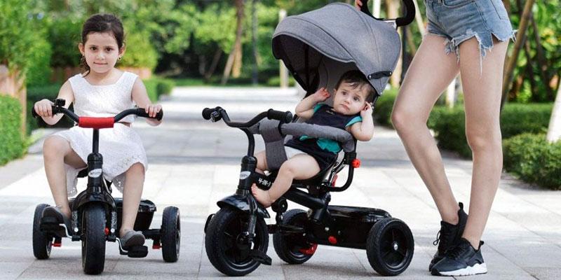 Comparatif des tricycles évolutifs pour bébé