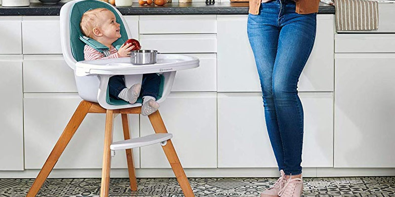 Confort des chaises hautes pour les bébés