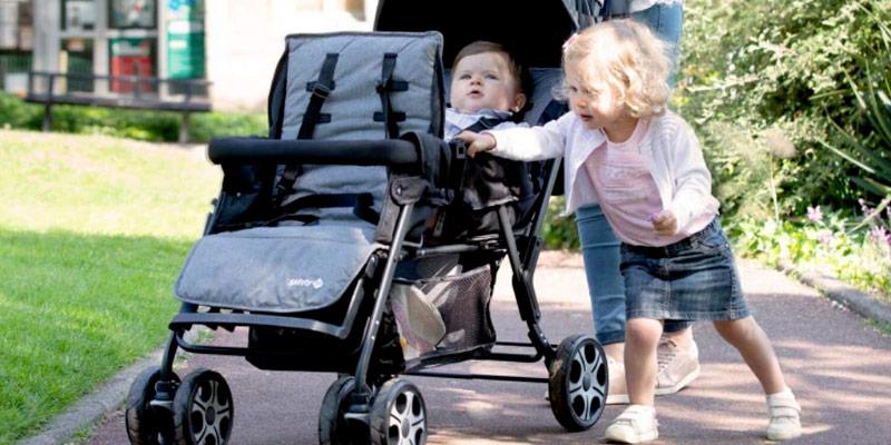Sélection des meilleures poussettes doubles et pour les jumeaux