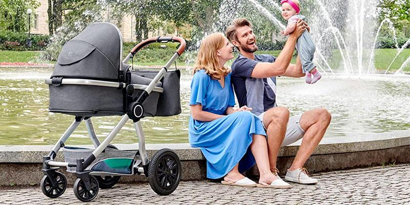 Les meilleures poussettes trio - Des combinés avec nacelle et siège-auto