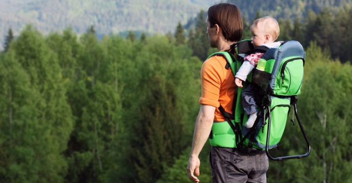 sac a dos porte bebe randonnee