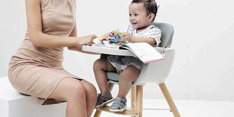 Sécurité et chaise haute pour bébé