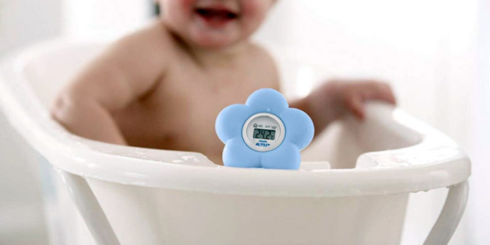 Thermomètre de bain pour bébé - Le guide complet !